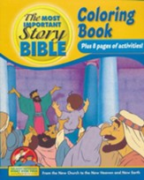 Coloring and Activity Book, Volume 4: From the New Church to the New Heaven and New Earth