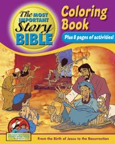 Coloring and Activity Book, Volume 3: From the Birth of Jesus to The Resurrection