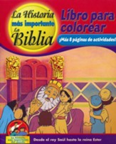 Coloring and Activity Book, Volume 2: From King Saul to Queen Esther - Spanish edition