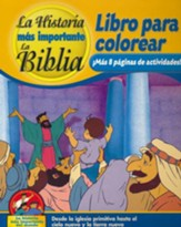 Coloring and Activity Book, Volume 4: From the New Church to the New Heaven and New Earth - Spanish edition
