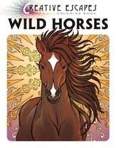 Creative Adult Coloring: Wild Horses