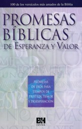 Promesas Bíblicas de Esperanza y Valor Folleto (Bible Promises of Hope and Courage Pamphlet)