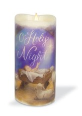 O Holy Night LED Candle