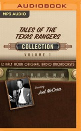 Tales of the Texas Rangers Collection, Volume 1 - 12 Original Radio Broadcasts (OTR) on MP3-CD