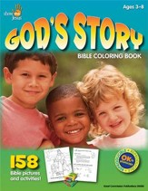 God's Story: Bible Coloring Book