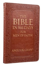 The Bible in 366 Days For Men of Faith, Imitation Leather