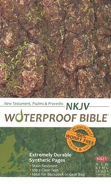 NKJV Waterproof NT with Psalms and Proverbs, Camouflage