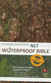 NLT Waterproof Bible New Testament with Psalms & Proverbs, Camouflage - Imperfectly Imprinted Bibles