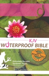 KJV Waterproof Bible, LilyPad