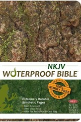 NKJV Waterproof Bible, Camouflage - Slightly Imperfect