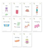 McRuffy Dynamic Phonics and Reading,  Kindergarten, First Step Readers Set of 10