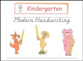 McRuffy Handwriting Series:  Modern--Grade K