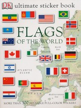 Ultimate Sticker Books: Flags of the World