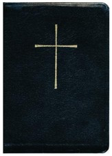 The Book of Common Prayer and Hymnal 1982 Combination: Black Leather