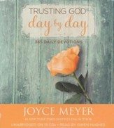Trusting God Day By Day: 365 Daily Devotions, Audiobook on CD