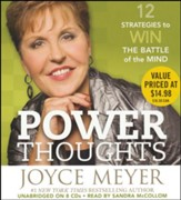 Power Thoughts: 12 Strategies for Winning the Battle of the Mind, Audio CD