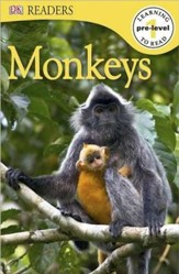 DK Reader Pre-Level 1: Monkeys