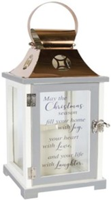 May the Christmas Season Fill Your Home, LED Lantern
