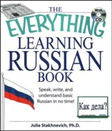 The Everything Learning Russian Book w/cd