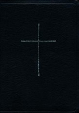 The Book of Common Prayer and the New Revised Standard Version  (NRSV) Bible: Black Bonded Leather