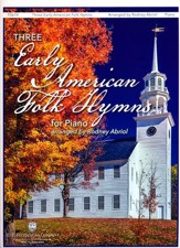 Three Early American Folk Hymns