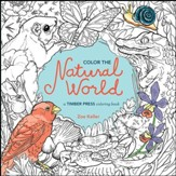 Color the Natural World, Coloring Book for Adults