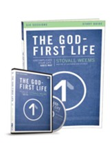 The God-First Life, Study Guide with DVD