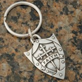 Shield Keyring, Faith, Ephesians 6:16
