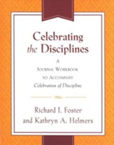 Celebrating the Disciplines: A Journal Workbook - Slightly Imperfect