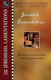 Shepherd's Notes on Jeremiah & Lamentations - eBook