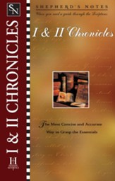 Shepherd's Notes on 1,2 Chronicles - eBook