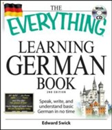 The Everything Learning German Book With CD, 2nd Edition