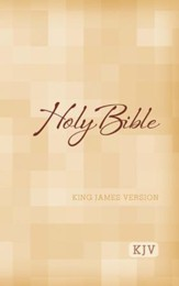 KJV Large-Print Bible - Case of 16