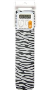 Bookmark Timer, Booklight, Zebra