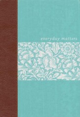NLT Everyday Matters Bible for Women, Deluxe Hardcover  - Slightly Imperfect