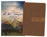 The A. W. Tozer Bible: KJV Version, Flexisoft leather, Brown/Tan