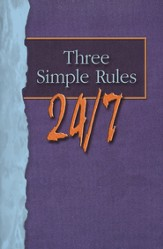 Three Simple Rules 24/7 - Student Book