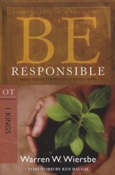 Be Responsible (1 Kings)