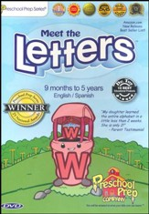 Meet the Letters, DVD