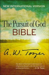 The Pursuit of God Bible, New International Version  - Slightly Imperfect