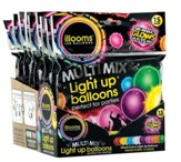 Illoom Light Up Balloons, Multi, Pack of 15