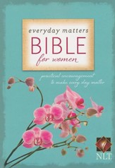 NLT Everday Matters Bible for Women, softcover  - Slightly Imperfect