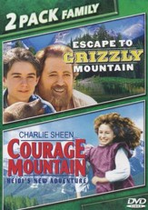 Escape To Grizzly Mountain/Courage Mountain, Double Feature DVD