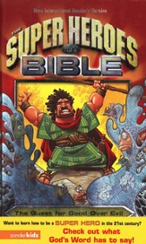 NIrV Super Heroes Bible Hardcover