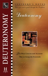 Shepherd's Notes on Deuteronomy - eBook