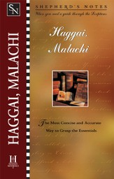 Shepherd's Notes on Haggai/Malachi - eBook