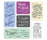 Everyday Music Magnets, Set of 6