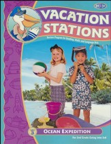 BJU Press Vacation Stations Book 3: Ocean Expedition Grades 2-3 (Updated Copyright)