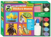 PBS Kids Crafts: Sticks and Stones