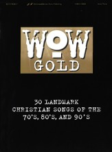 WOW Gold Songbook, Vocal/Piano